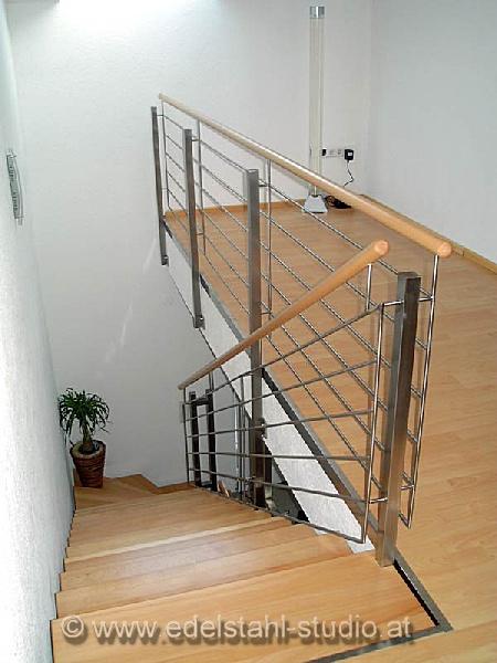 Treppengeländer Welches Holz ~ edelstahl studio » Innengeländer